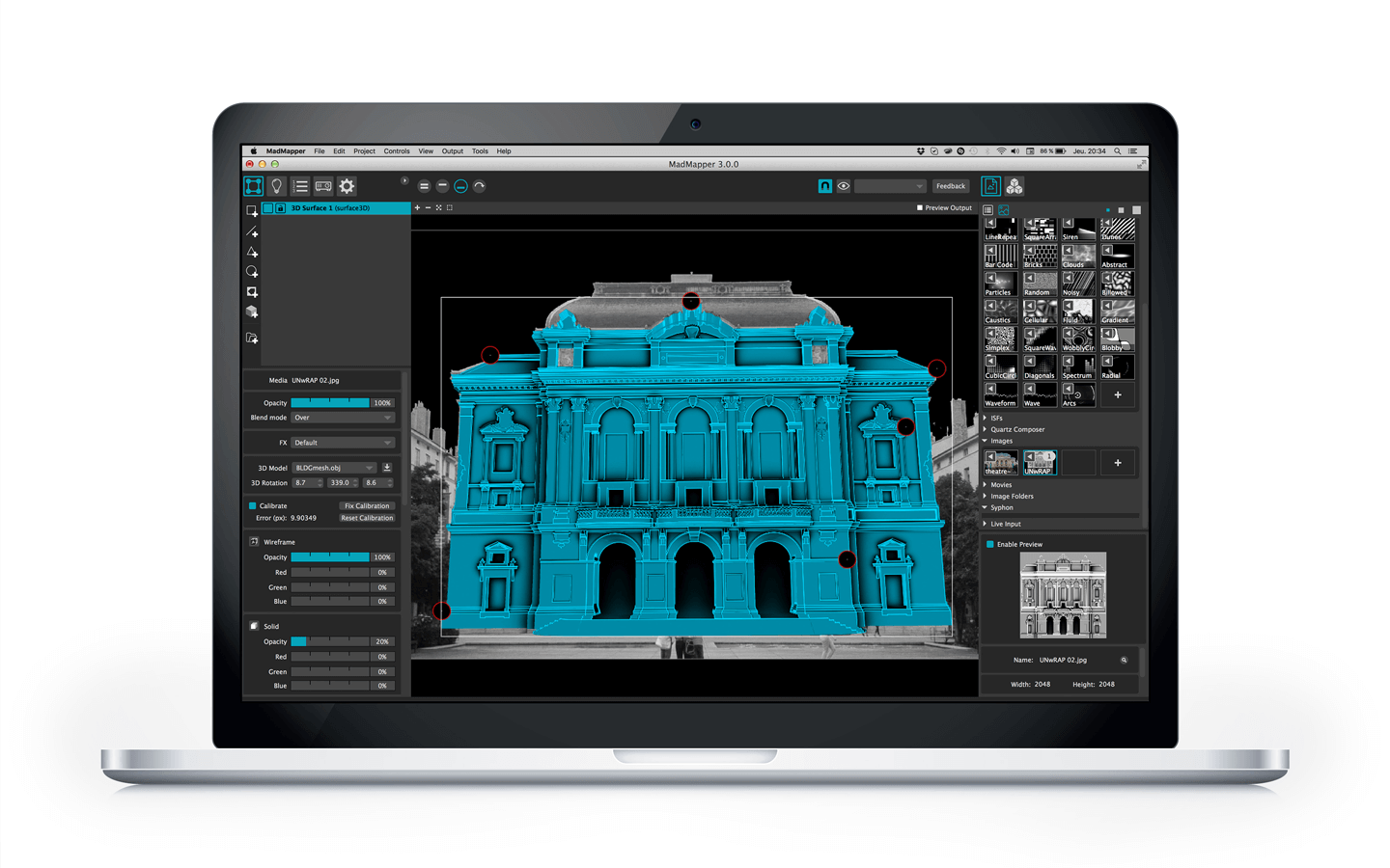 Projection Mapping Software Tenders