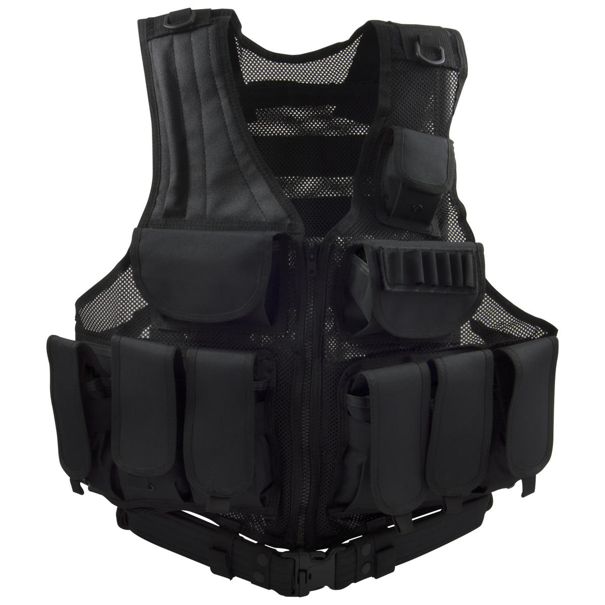 Black Tactical Vest Tenders