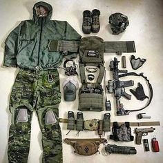 Shooter Combat Gear Tenders